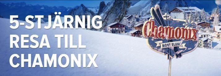 Vinn en lyxresa till Chamonix