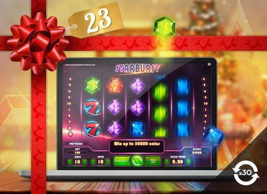 Slutspurt inför julen med Betsson Casino