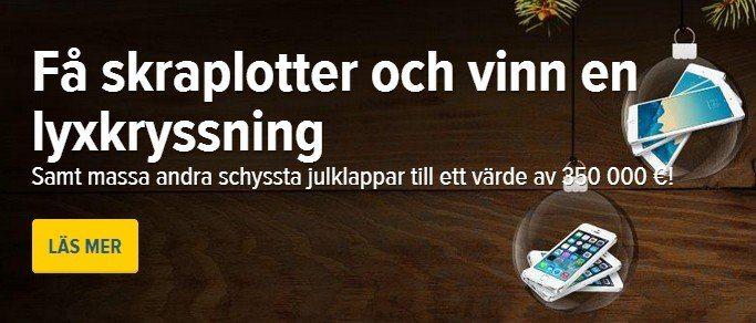 Lyxkryssning, iPhones o iPads - SverigeAutomaten