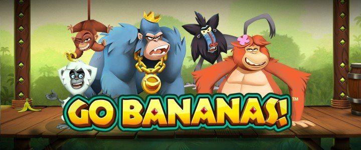 Få 100 gratisspel på Go Bananas!