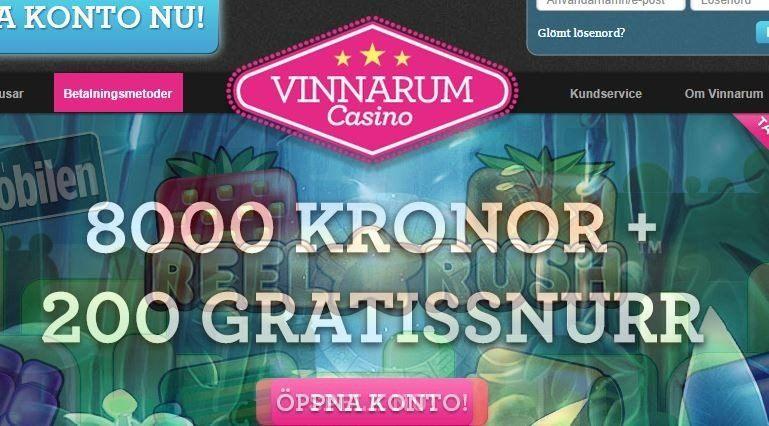 Nya titlar och rejäl välkomstbonus på Vinnarum