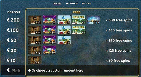 500 free spins till svenska spelare hos Casino Saga