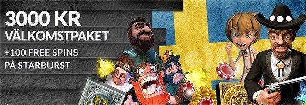 100 gratisspel hos Guts för svenska spelare