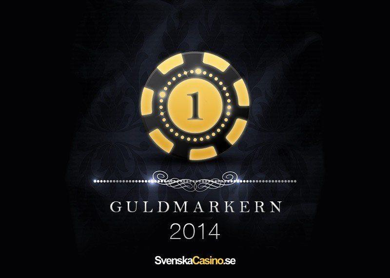 Guldmarkern 2014 - Sveriges Bästa Casinon