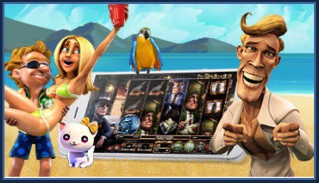 Spela casino på mobilen i sommar!
