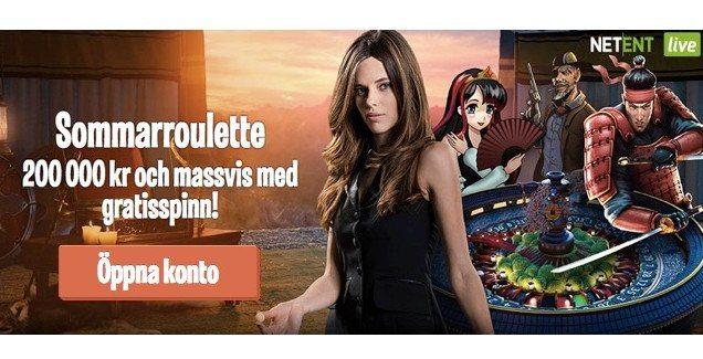 Triss i Roulette kampanjer online hos LeoVegas