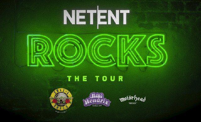 Gratisrundor i NetEnts rockiga spelautomater