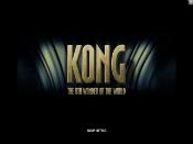 Kong: The 8th Wonder of the World Skjermbilde 1