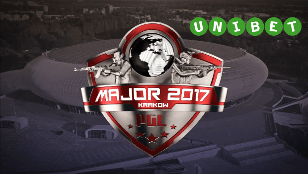 Unibet Signs On to Stream Major CS: GO eSports Tournament