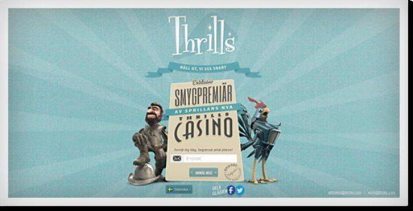 Vi tog oss ett snack med personerna bakom det omtalade Thrills.com