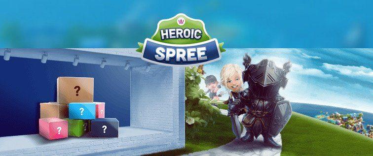 Ny fest hos Casino Heroes inleds med gratis spins!