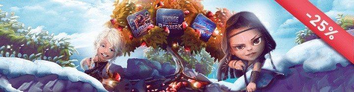 Free spins utan insättning i all ära men idag är det julrea!