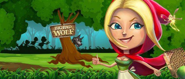 Big Bad Wolf genererar free spins utan omsättningskrav!