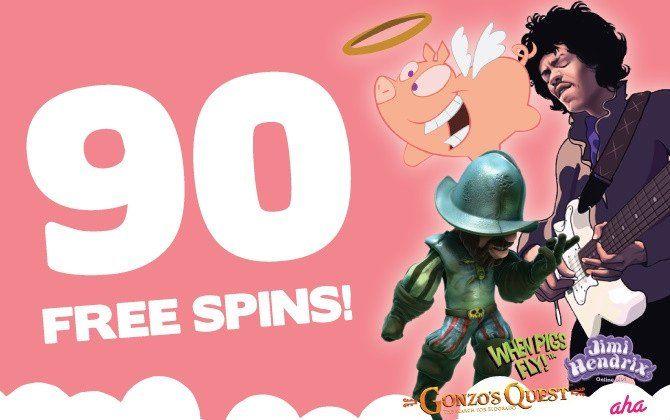 Gratissnurr bonus i tre grymma casinospel!