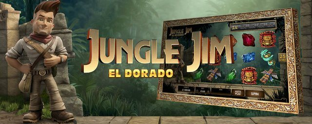 Jungle Jim är 2016 års nya Gonzo's Quest på casino!
