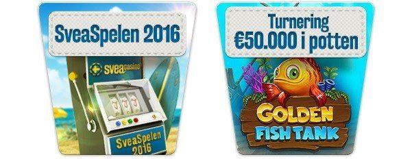 Missa inte sommarens största prispott hos Svea Casino!