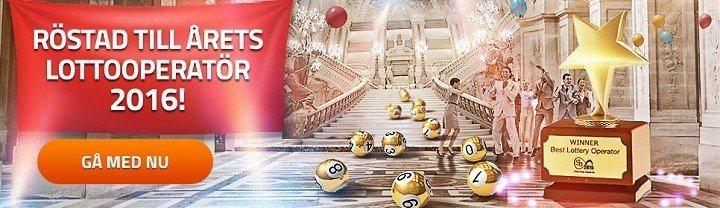4 miljarders jackpott hos årets bästa sajt för lotto på nätet!