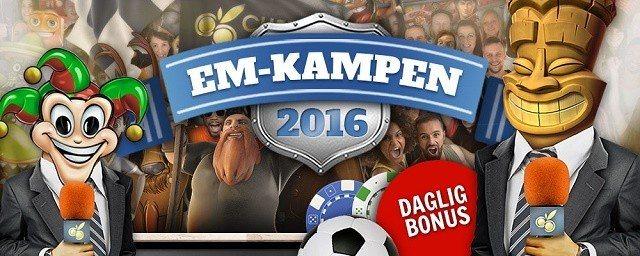 Satsa på Sverigematchen med en free spins bonus!