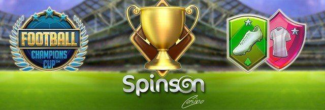 Spinn gratis med Spinson casino 2016 och testa det nya spelet!