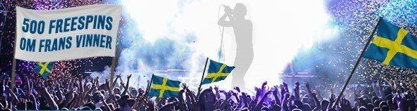 Gratisspinn och bonusar i mängder med Svea
