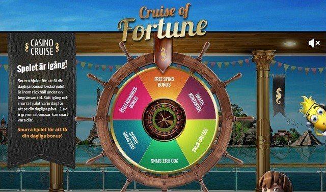 Alltid bäst bonus med Casino Cruise