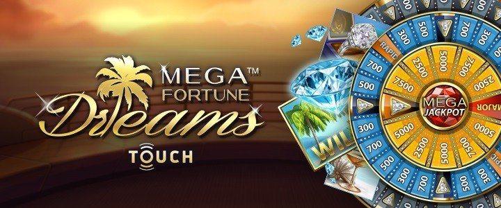 Mega Fortune Dreams jackpott levererar för tredje gången 2016