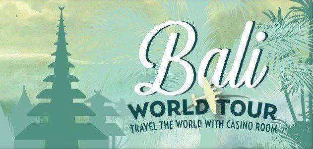 Spela valfria casinospel och vinn en resa till Bali