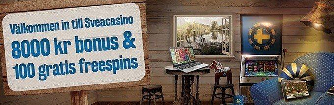 Ny förbättrad casinobonus hos SveaCasino