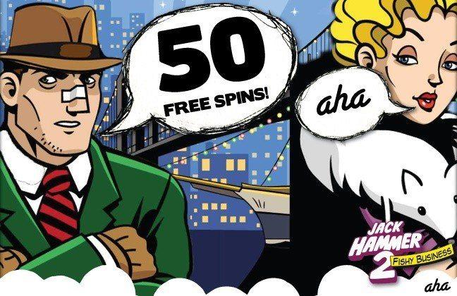 Nya casinospel och en fin bonus idag hos ahaCasino!