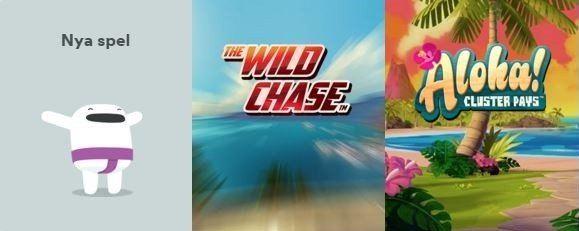 The Wild Chase tjuvstartar hos Casumo Casino!