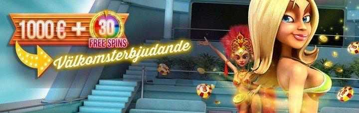 Många anledningar till lycka hos Luckland casino
