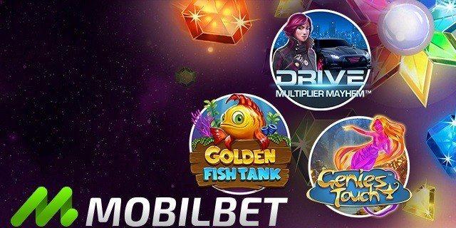 Spela nya casinospel och var med i utlottningen av tre fina prispotter