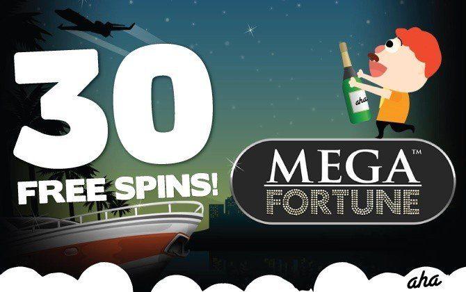 100 nya casinospel och Mega Fortune firas bäst med free spins!