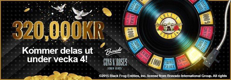Helrätt läge att hoppa på casinosidan SverigeKronans kontantrace