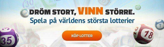 Över 1,5 miljarder i helgens Lotto-jackpott!