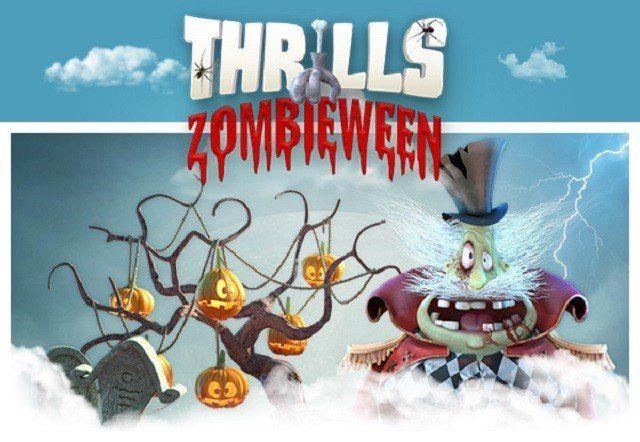 Fira Zombieween med Thrills casino-kalender