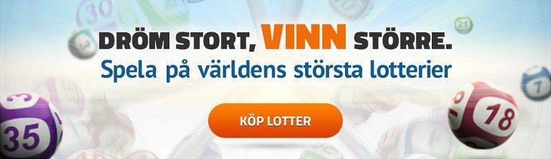 Spela om en Lotto-jackpott på 1,3 miljarder!