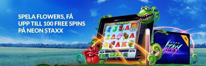 Free spins i Neon Staxx på premiärdagen!