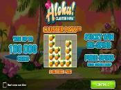 Aloha! Cluster Pays Skjermbilde 2