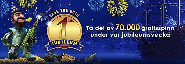 Ettårs-jubilera med SverigeKronan!