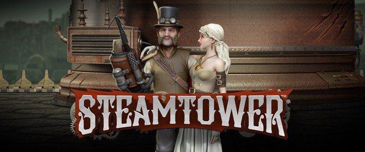 Testa nya Steamtower med Free Spins