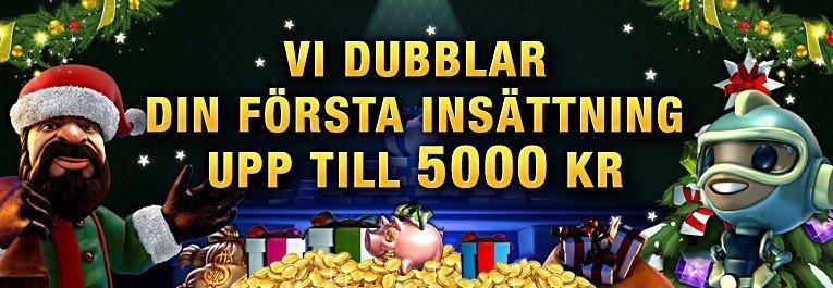 SverigeKronan Casino ger bort 5000kr och 160 freespins
