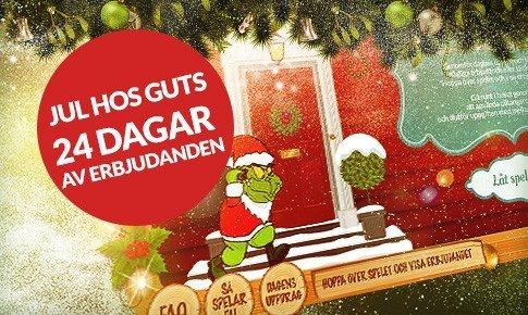 Rädda julen hos Guts Casino!