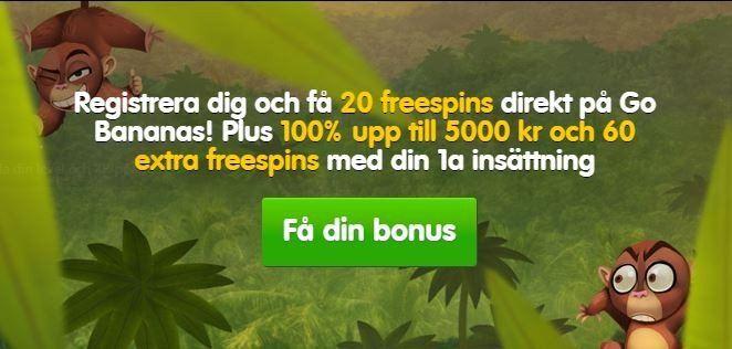 Vi visar hur du får 80 gratissnurr och 5000 spänn i bonus!