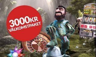 Guts erbjuder 3000 kronor och 100 free spins!