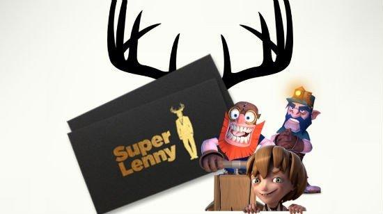 SuperLenny - 3000 kr i bonus och 300 Free Spins!