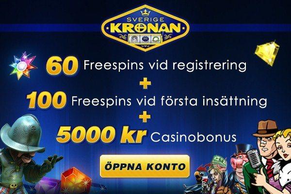 60 Freespins helt Gratis!