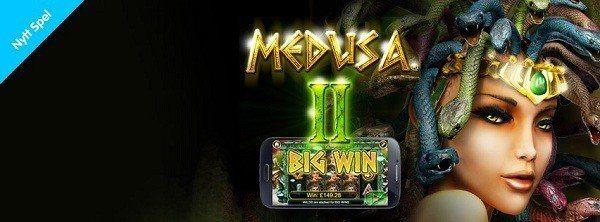 Medusa 2 i mobilen hos Casino Room