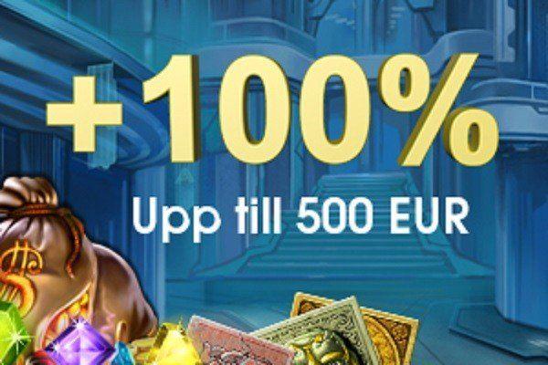 5000 kronor extra hos Casinofloor