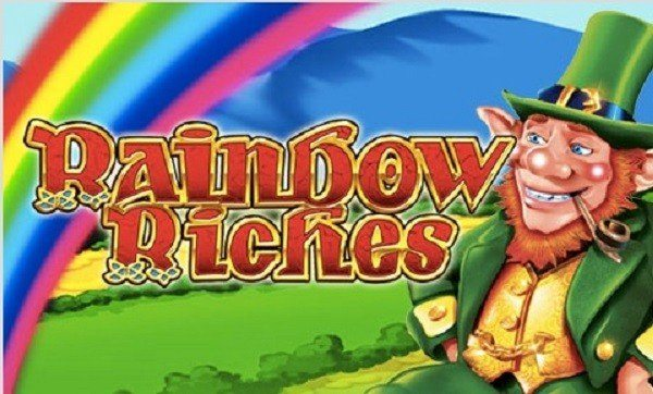 Att spela på Rainbow Riches ger free spins